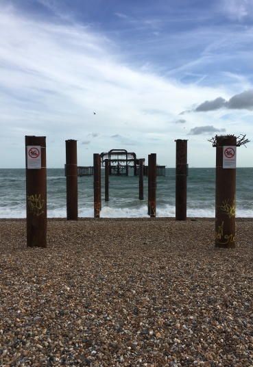 The West Pier - or what's left of it at least