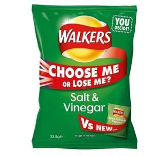 salt and vinegar